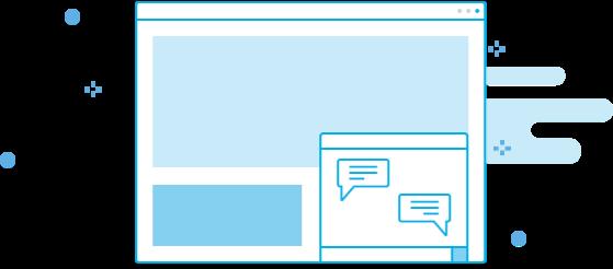 Chat online - atenda com rapidez