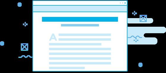 Atualização automática de conteúdos informativos